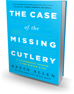 Book Review: Case of the Missing Cutlery – A Leadership Course for the Rising Star