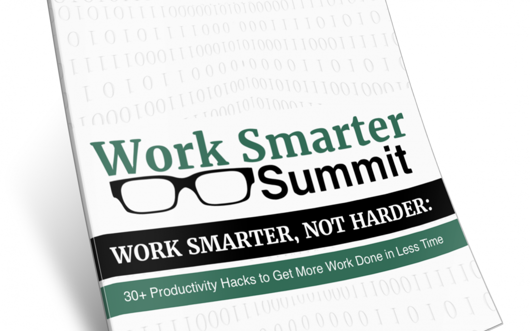 151: Work Smarter, Not Harder – Productivity Hacks to Get More & Better Work Done in Less Time | with David Burkus